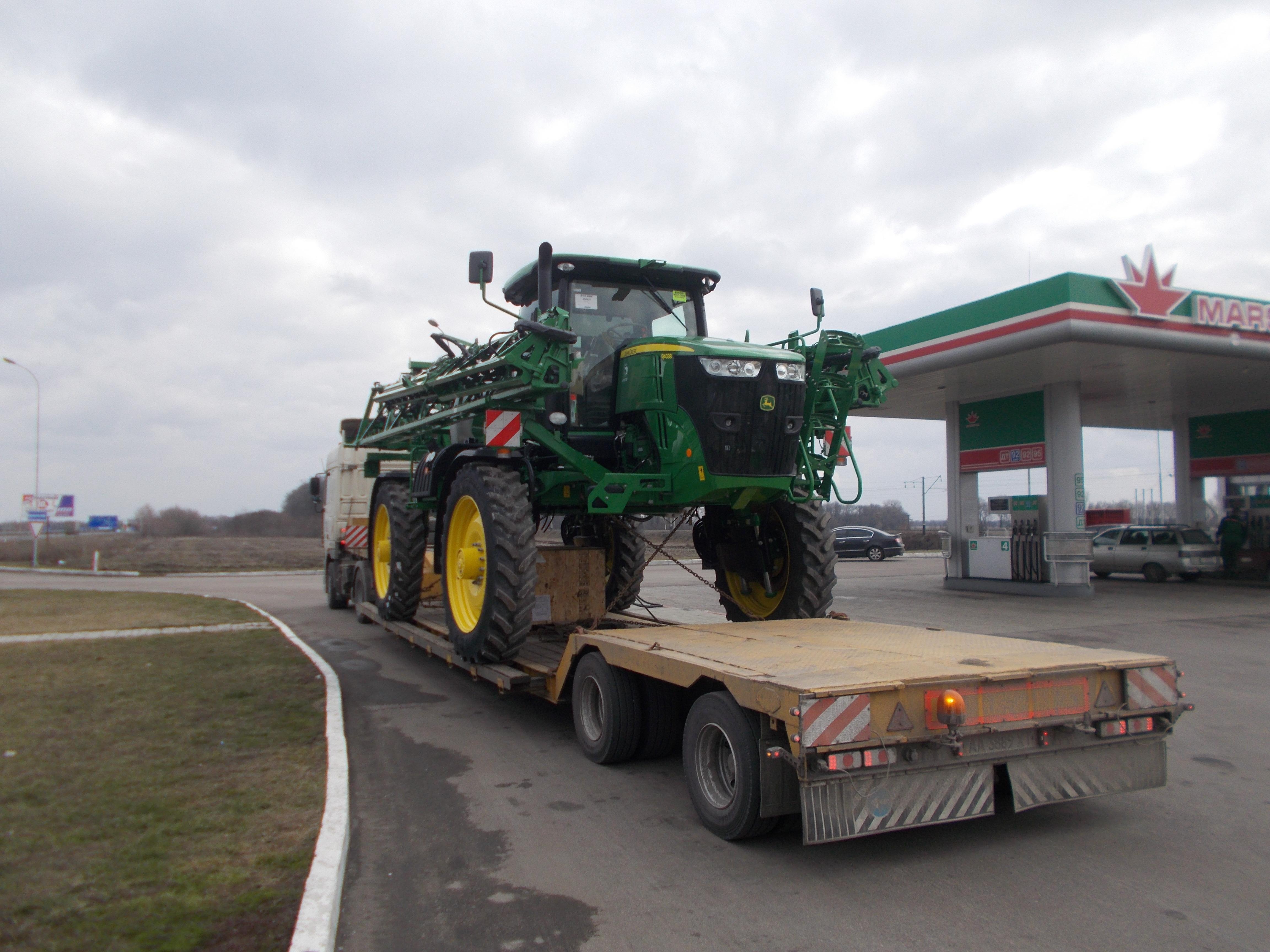 Доставка сельхозтехники