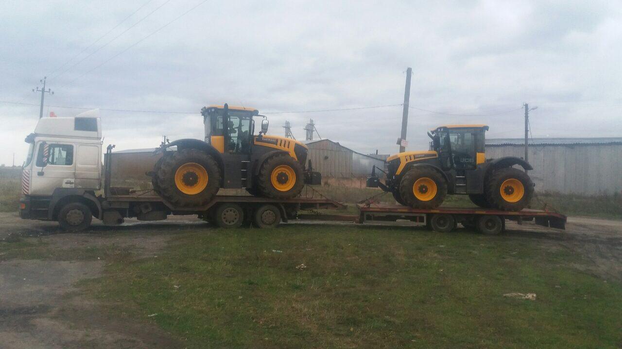 Транспортировка тракторов