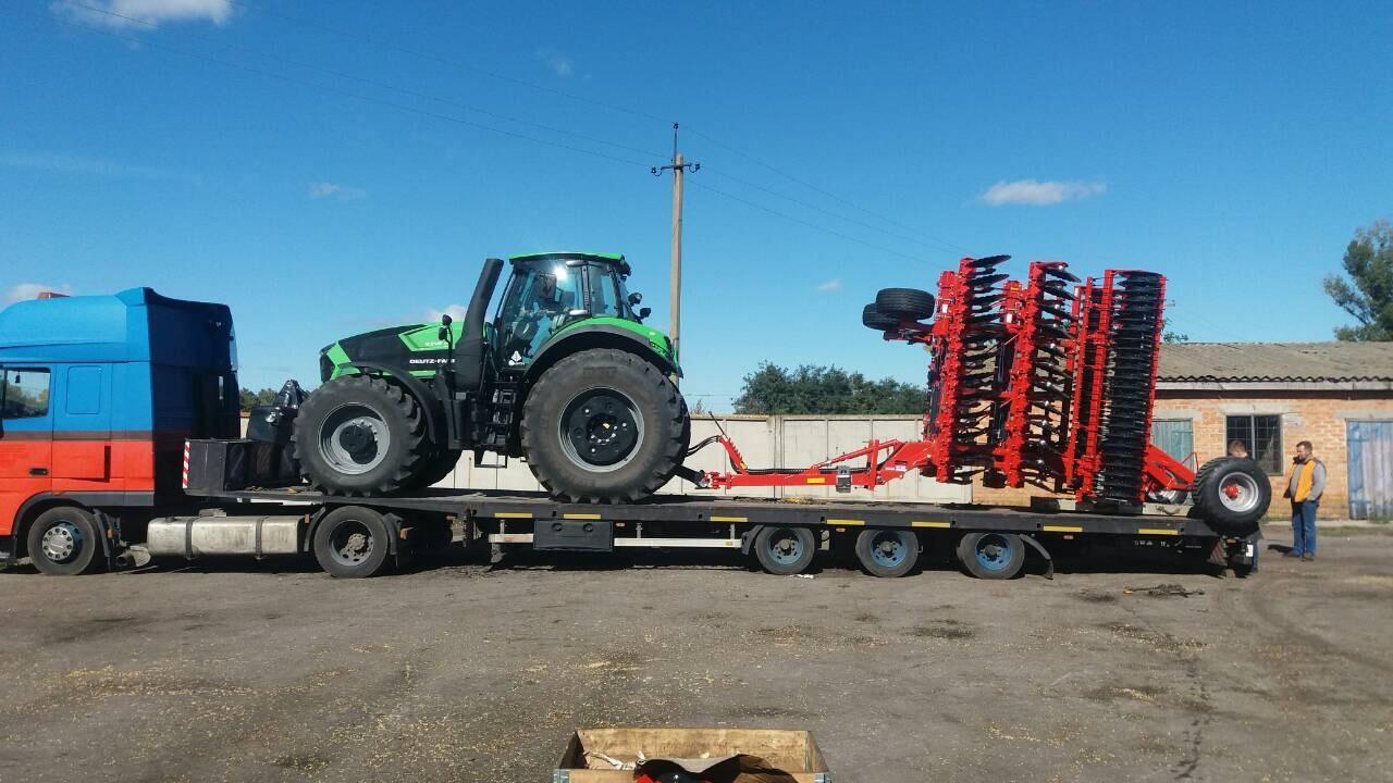 Перевозка сельскохозяйственных грузов