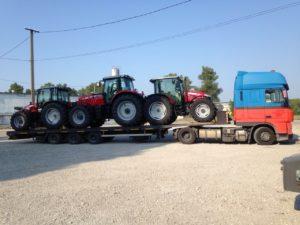 Перевозка сельськохозяйственной техники